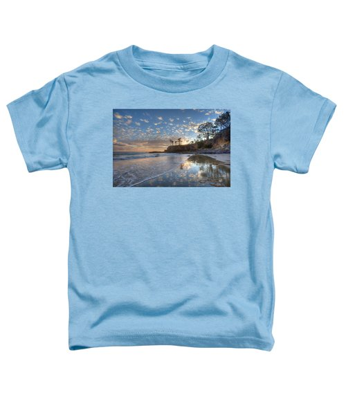 Wet Sand Reflections Laguna Beach Toddler T-Shirt