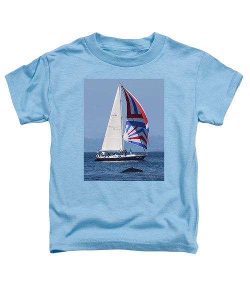 Whale Watching 1 Toddler T-Shirt