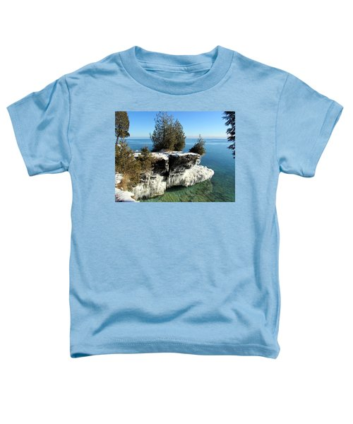Winter At Cave Point Toddler T-Shirt