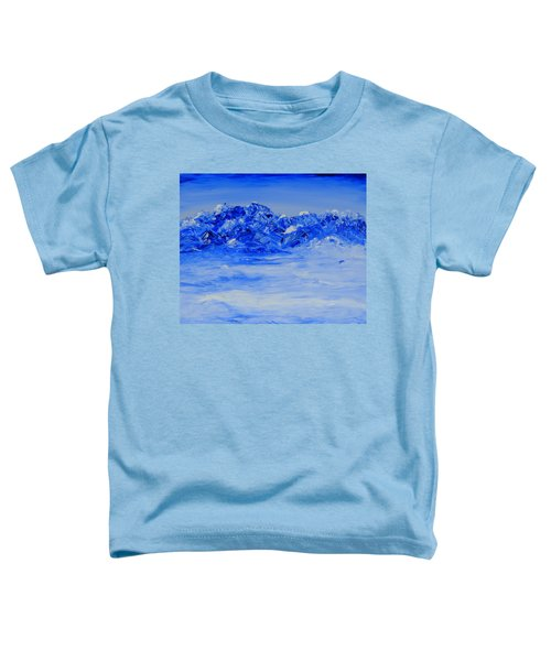 Winters Frosty Hues Toddler T-Shirt