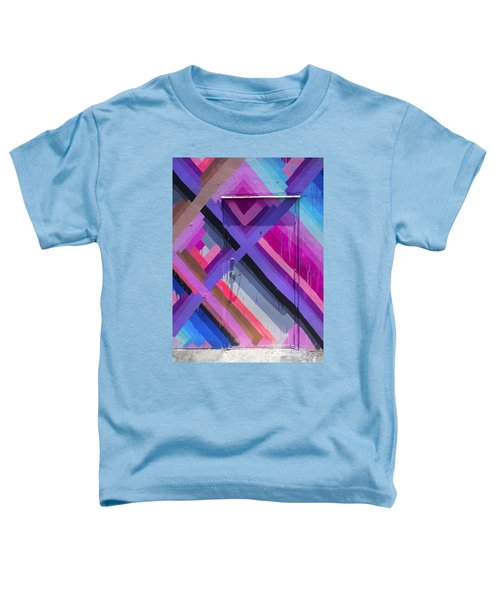 Miami Wynwood Art District Door Grafitti Toddler T-Shirt