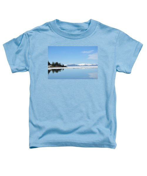 Yellowstone Lake In The Spring Toddler T-Shirt