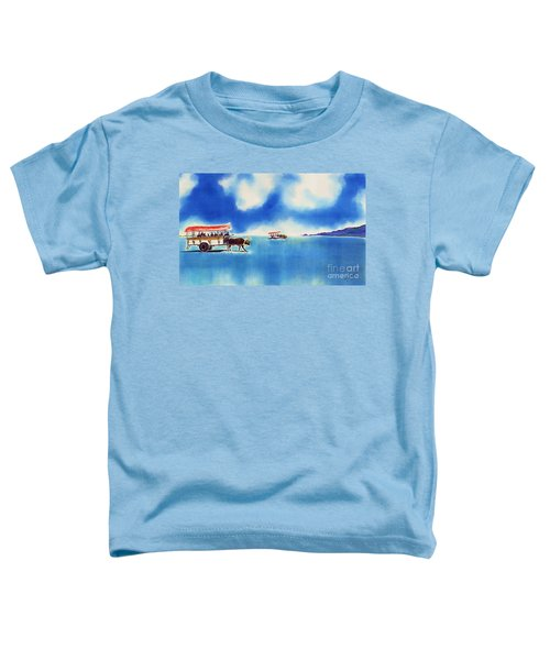 Yubu Island-water Buffalo Taxi  Toddler T-Shirt