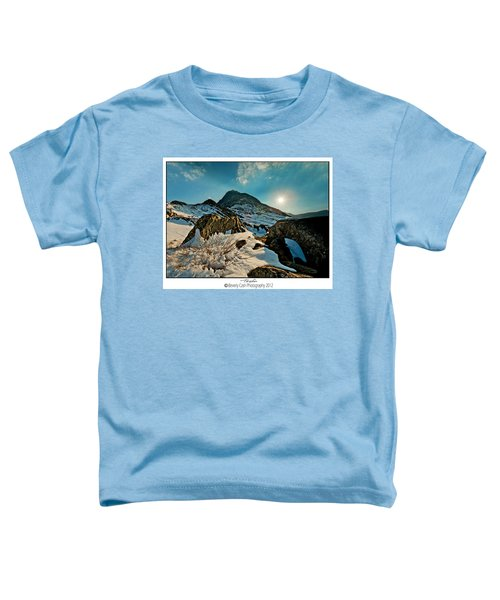 Spring Snows At Tryfan Toddler T-Shirt