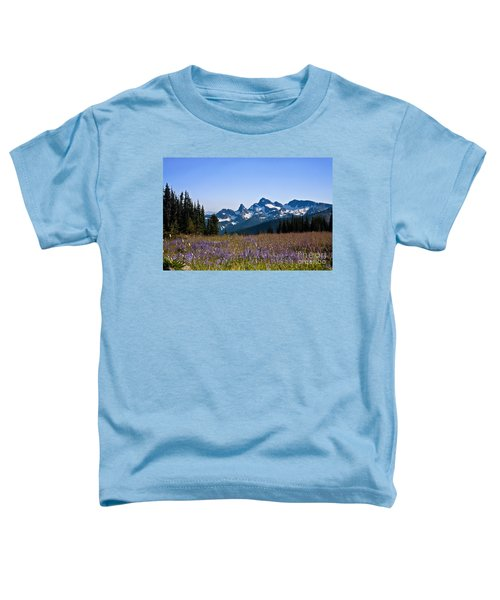 Wildflowers In The Cascades Toddler T-Shirt