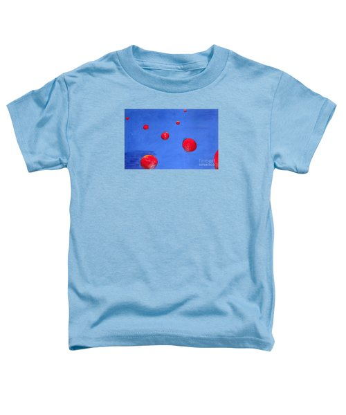 Orbs In Space 1 -- Crossing Paths Toddler T-Shirt by Rod Ismay