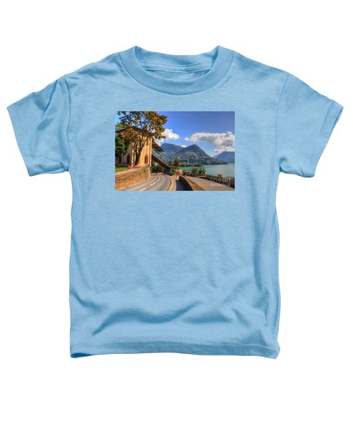 Road And Mountain Toddler T-Shirt