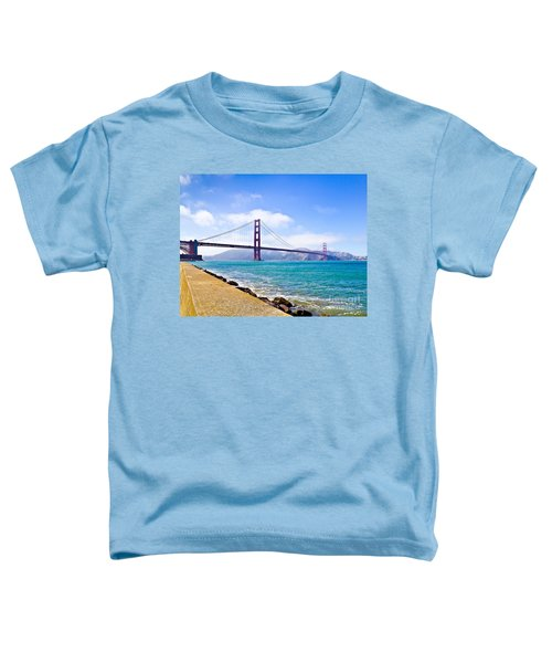 75 Years - Golden Gate - San Francisco Toddler T-Shirt
