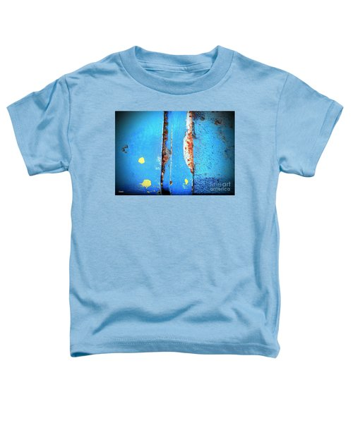 Blue Abstract Toddler T-Shirt