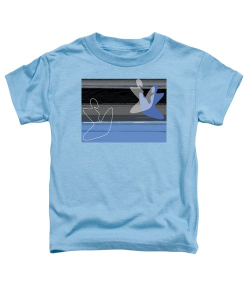 Blue Girls Toddler T-Shirt