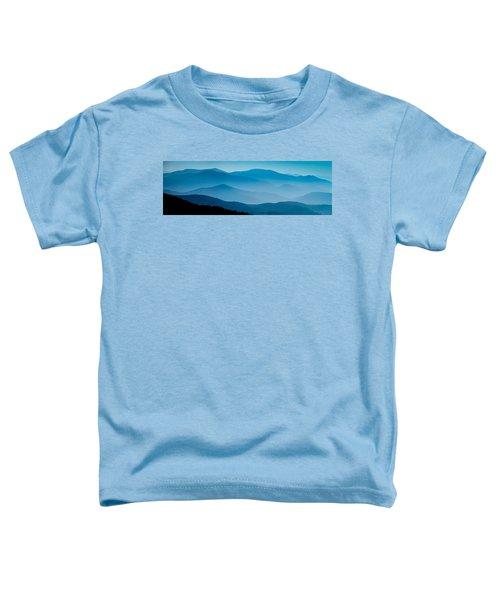 Blue Ridges Panoramic Toddler T-Shirt