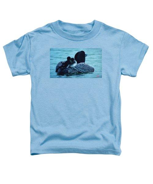 Duck Family Joy In The Lake  Toddler T-Shirt