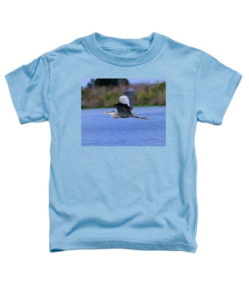 Great Blue Inflight Toddler T-Shirt