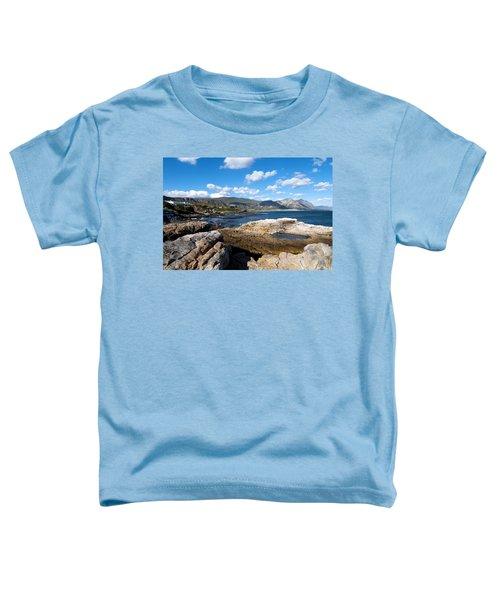 Hermanus Coastline Toddler T-Shirt