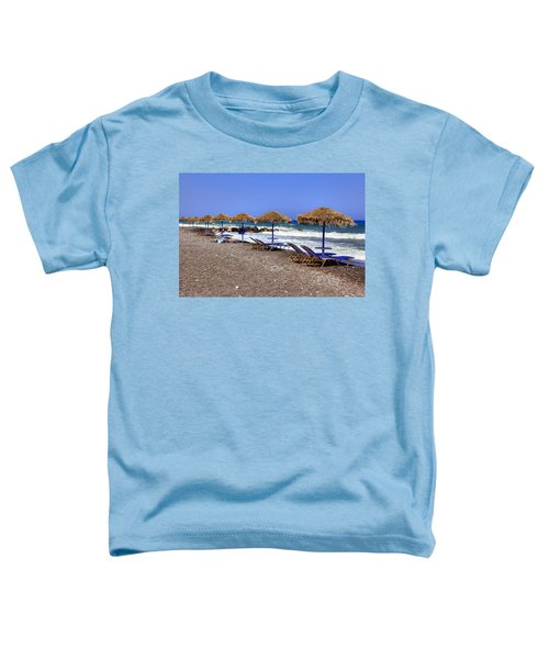 Kamari - Santorini Toddler T-Shirt