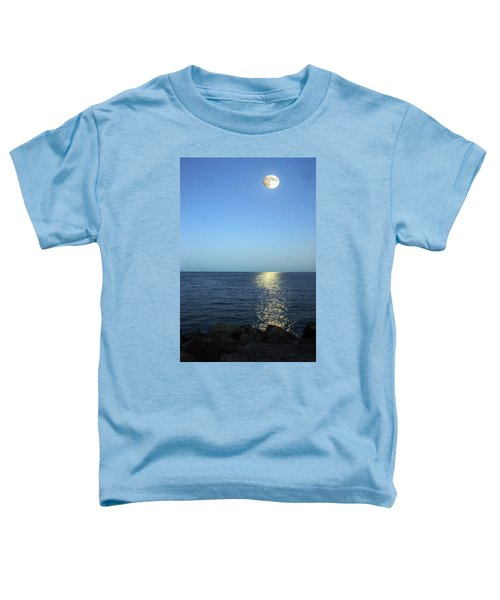 Moon And Water Toddler T-Shirt