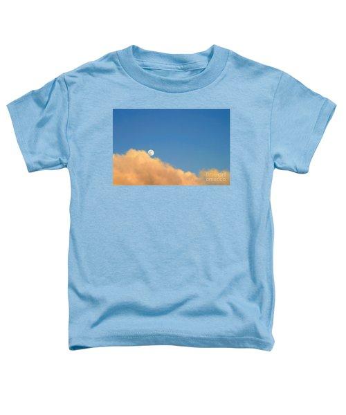 Moon At Sunset Toddler T-Shirt