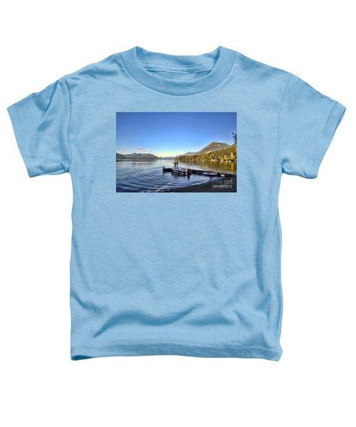 Mornings In British Columbia Toddler T-Shirt