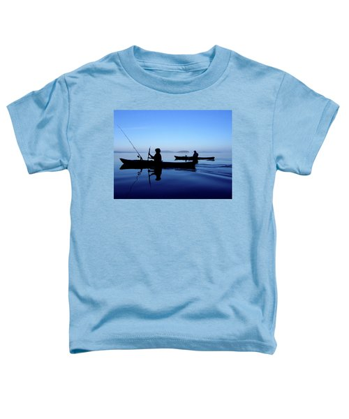 On The Deep Blue Sea Toddler T-Shirt