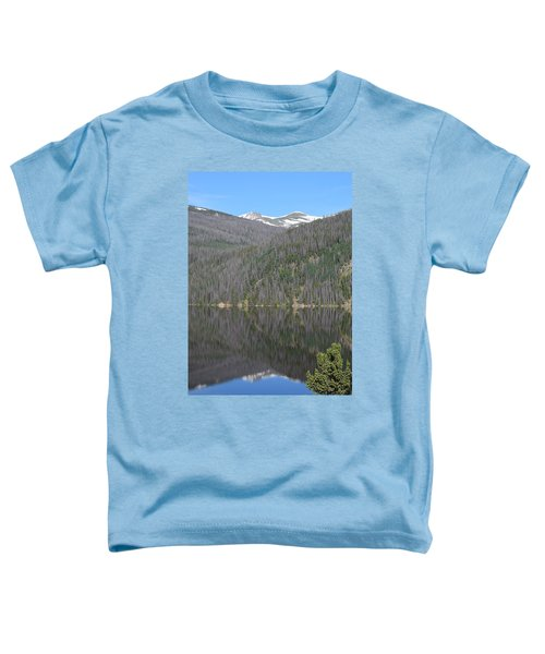 Chambers Lake Reflection Hwy 14 Co Toddler T-Shirt