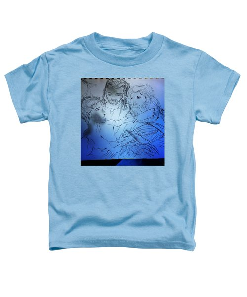 Adam Andeve The Creation Story Toddler T-Shirt