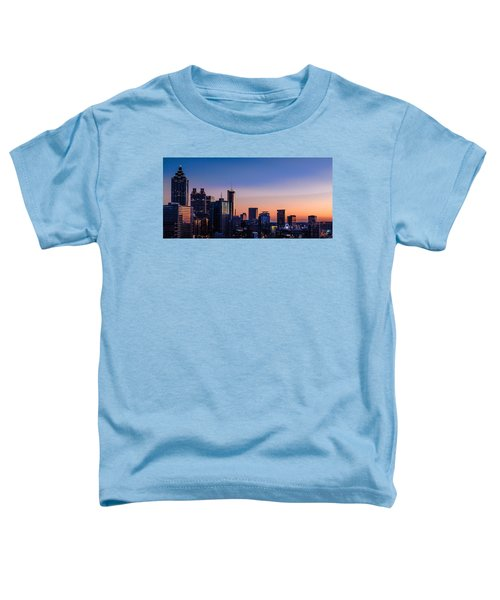 Atlanta Sunset Toddler T-Shirt
