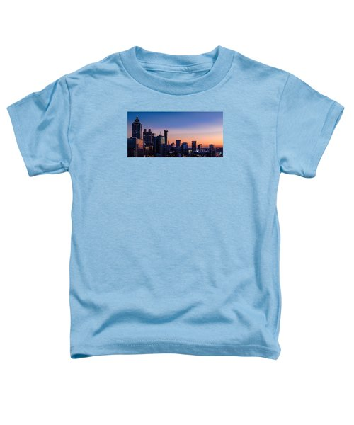 Atlanta Sunset Toddler T-Shirt