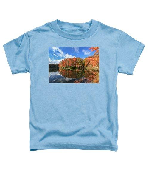 Autumn At Boley Lake Toddler T-Shirt