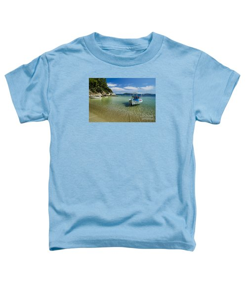 Colorful Boat Toddler T-Shirt