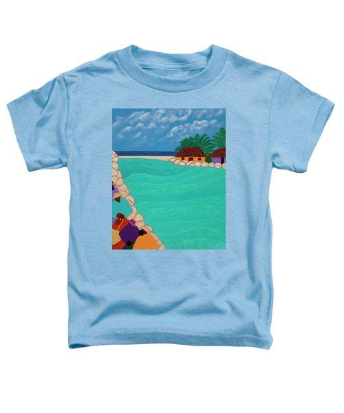 Curacao Lagoon Toddler T-Shirt