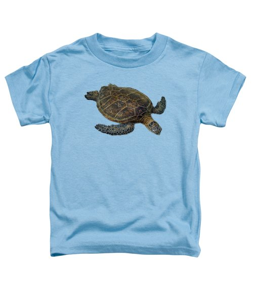 Hawaiian Sea Turtle Toddler T-Shirt