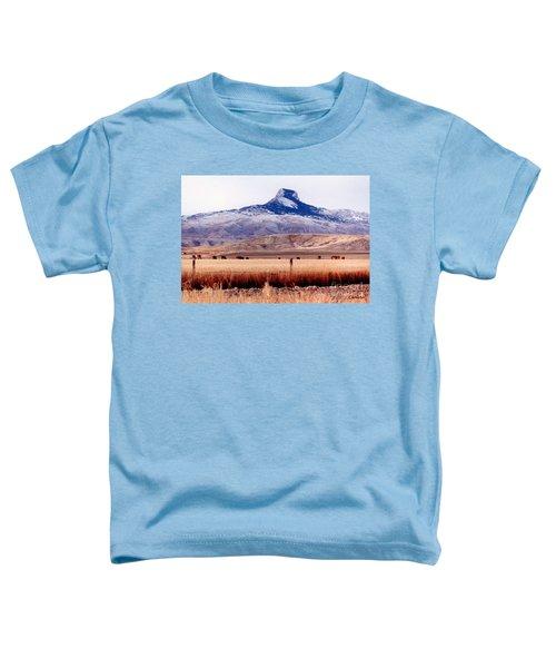 Hart Mountain - Cody,  Wyoming Toddler T-Shirt