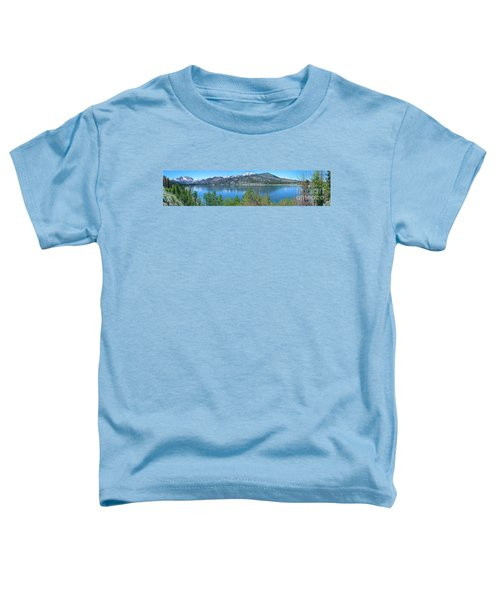 June Lake Panorama Toddler T-Shirt