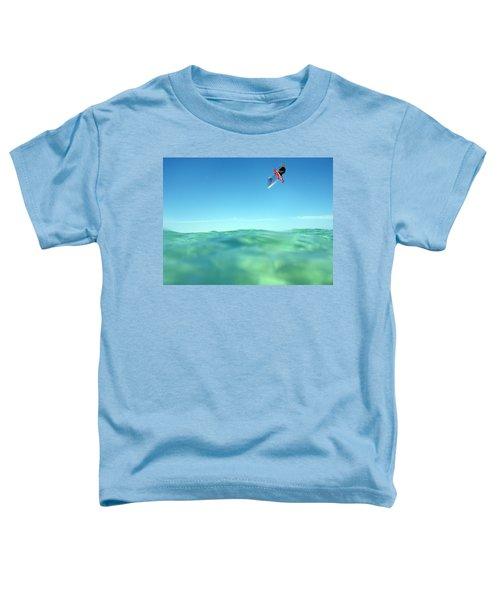 Kitesurfing Toddler T-Shirt