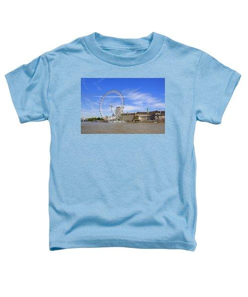 London Eye Toddler T-Shirt by Joana Kruse