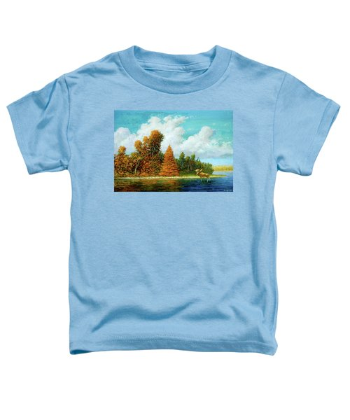 Moose Country Toddler T-Shirt