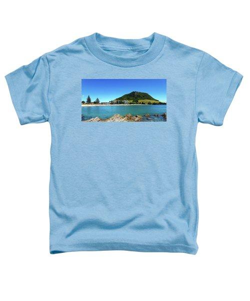 Mount Maunganui Beach 10 - Tauranga New Zealand Toddler T-Shirt