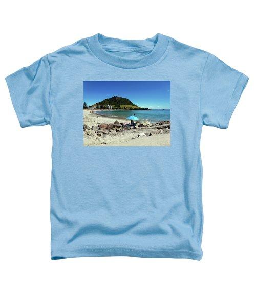 Mt Maunganui Beach 5 - Tauranga New Zealand Toddler T-Shirt