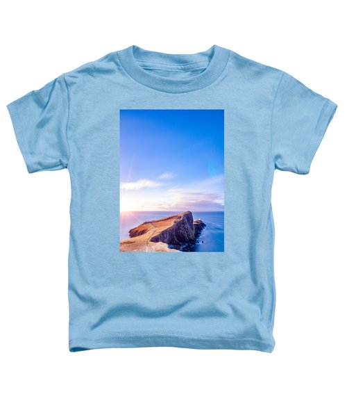 Neist Point Lighthouse At Dawn Toddler T-Shirt