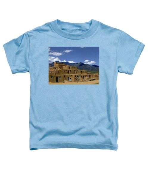 North Pueblo Taos Toddler T-Shirt