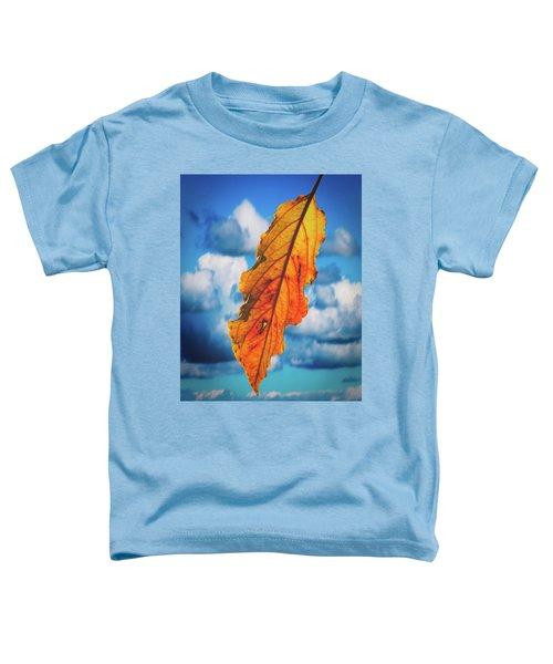 October Leaf B Fine Art Toddler T-Shirt