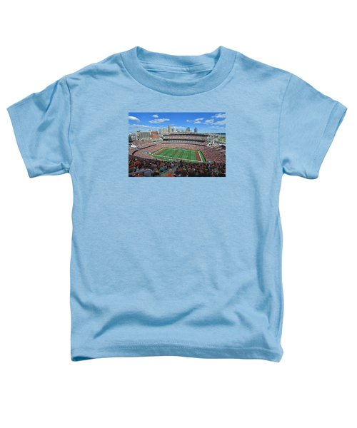 Paul Brown Stadium - Cincinnati Bengals Toddler T-Shirt