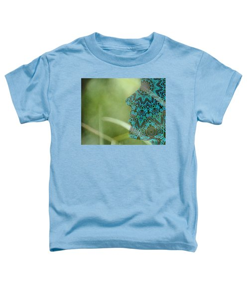 Profile Portrait Of Young Beautiful Woman. Toddler T-Shirt