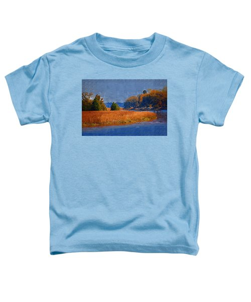 Sitting On The Dock Toddler T-Shirt