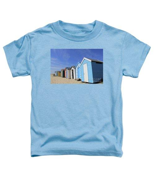 Southwold Beach Huts Toddler T-Shirt