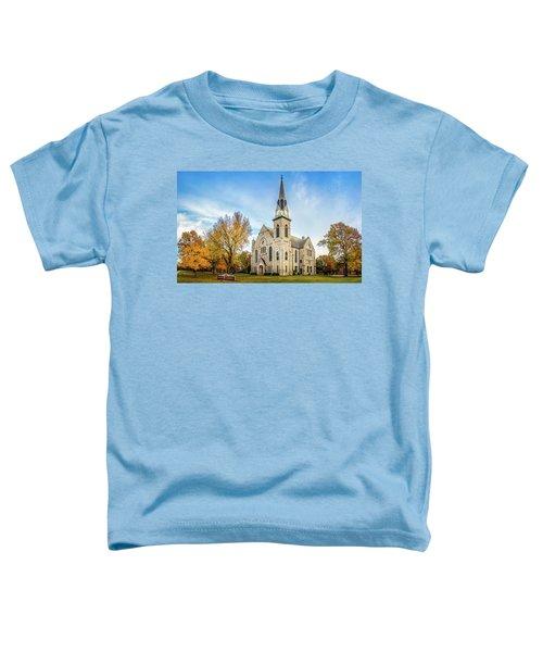 Stone Chapel Fall Toddler T-Shirt