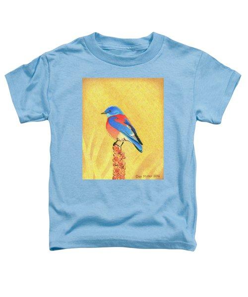 Western Bluebird Toddler T-Shirt