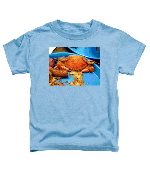 101516 Crab Boil Toddler T-Shirt