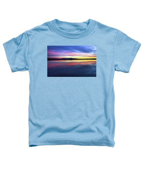 Lake Winnipesaukee - Layers Toddler T-Shirt