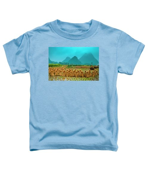 Beautiful Countryside Scenery In Autumn Toddler T-Shirt